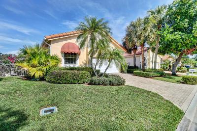 Delray Beach Single Family Home For Sale: 16497 Del Palacio Court