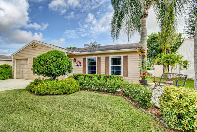 Lake Worth Single Family Home For Sale: 7843 Canal Drive