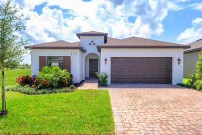 Vero Beach Single Family Home For Sale: 1651 Willows Square