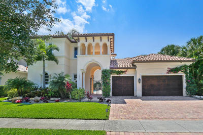 Boca Raton Single Family Home For Sale: 17563 Middle Lake Drive