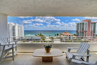 Highland Beach Condo For Sale: 3450 S Ocean Boulevard #901