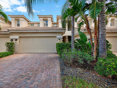 North Palm Beach Townhouse For Sale: 725 Cable Beach Lane