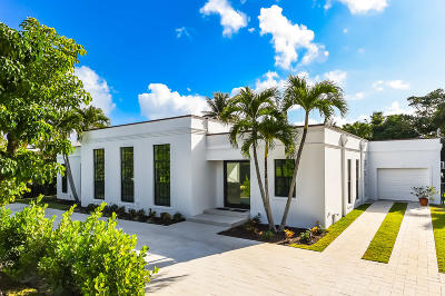 Palm Beach Single Family Home For Sale: 240 Sandpiper Drive