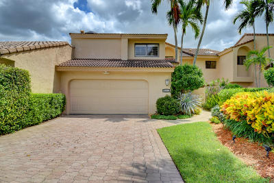 Boca Raton Townhouse For Sale: 19586 Bay View Road