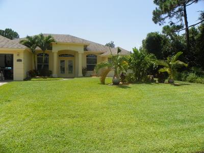 Port Saint Lucie Single Family Home For Sale: 2952 SW Rosetta Street