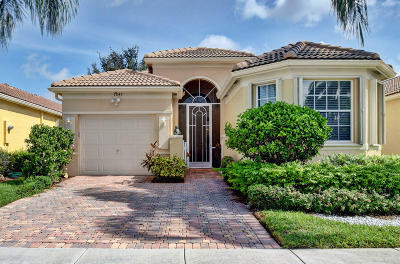 Delray Beach Single Family Home For Sale: 7245 Cataluna Circle