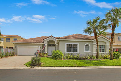 Boca Raton Single Family Home For Sale: 10929 Handel Place