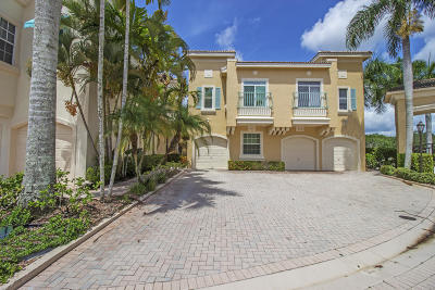 Palm Beach Gardens Townhouse For Sale: 507 Resort Lane