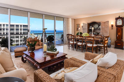 Palm Beach Condo For Sale: 2100 S Ocean Boulevard #502s