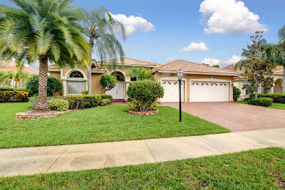 Boca Raton Single Family Home For Sale: 12403 Clearfalls Drive