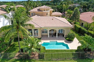 Palm Beach Gardens Single Family Home For Sale: 11115 Green Bayberry Drive
