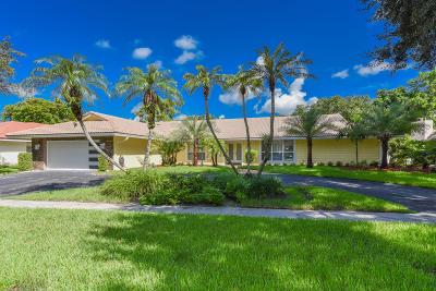 Boca Raton Single Family Home For Sale: 6797 Entrada Place
