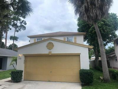 West Palm Beach Single Family Home For Sale: 1381 Climbing Rose Lane