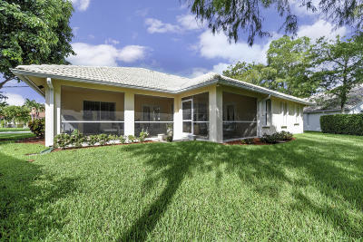 Royal Palm Beach Single Family Home For Sale: 113 Cypress Trace