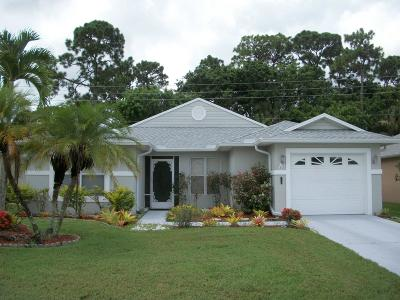 Fort Pierce Single Family Home For Sale: 655 Ponytail Lane