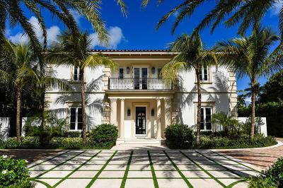 Palm Beach Single Family Home For Sale: 201 Dunbar Road
