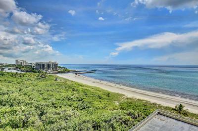 Boca Raton Condo For Sale: 1180 S Ocean Boulevard #10d