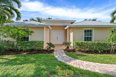Hobe Sound Single Family Home For Sale: 8792 SE Duncan Street