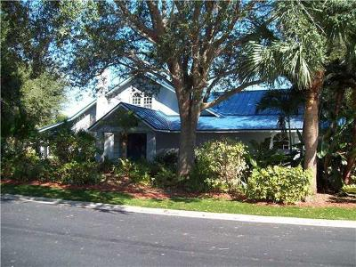 Stuart Single Family Home For Sale: 2571 Eventide Place