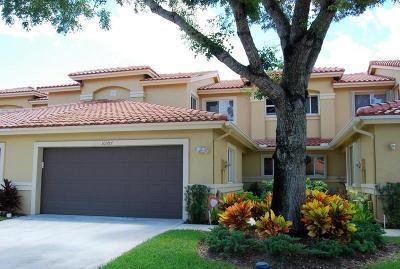 Boca Raton Townhouse For Sale: 10397 Lake Vista Circle