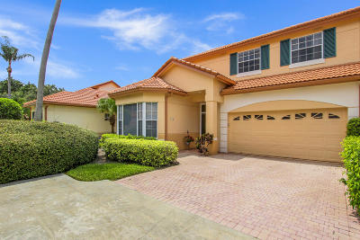 Palm Beach Gardens Townhouse For Sale: 159 Spyglass Way