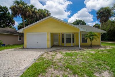 Vero Beach Single Family Home For Sale: 600 42nd Avenue