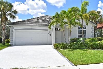 Royal Palm Beach Single Family Home For Sale: 109 Derby Lane
