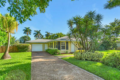 Delray Beach Single Family Home For Sale: 4553 Frances Drive