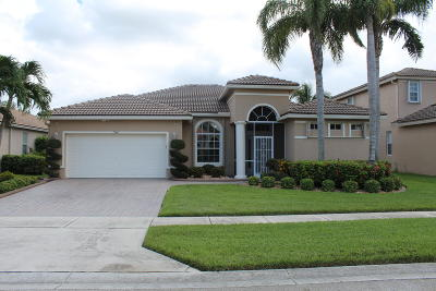 Royal Palm Beach Single Family Home For Sale: 1340 Stonehaven Estates Drive