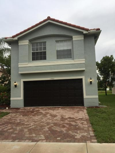 Royal Palm Beach Single Family Home For Sale: 11442 Garden Cress Trail