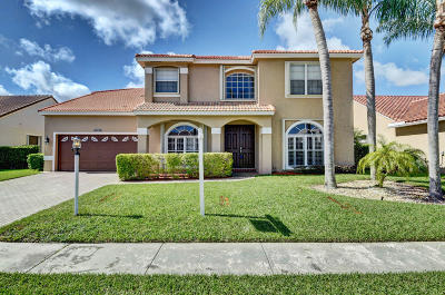 Boca Raton Single Family Home For Sale: 9460 Lake Serena Drive