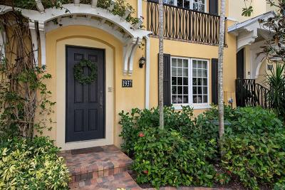 West Palm Beach Townhouse For Sale: 1937 S Olive Avenue