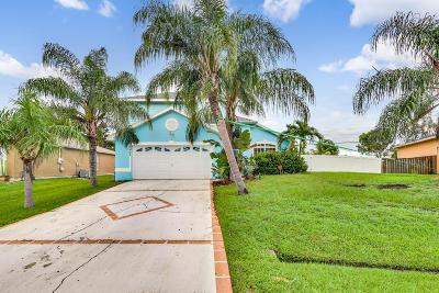 Port Saint Lucie Single Family Home For Sale: 3407 SE Bevil Avenue