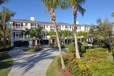 Vero Beach Townhouse For Sale: 4121 Silver Palm Drive