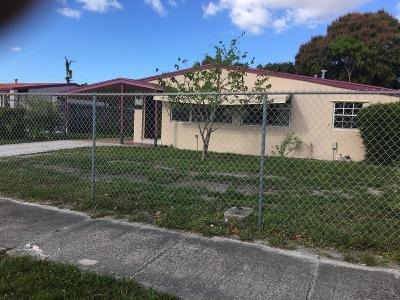Delray Beach Single Family Home For Sale: 314 SW 14th Avenue