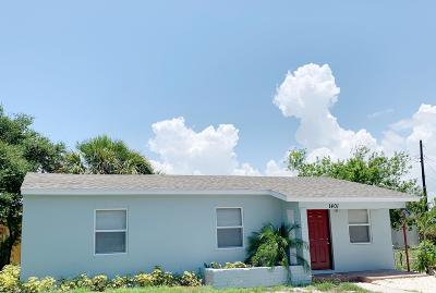 Lake Worth Single Family Home For Sale: 1401 S H Street