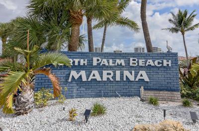 North Palm Beach Condo For Sale: 143 Yacht Club Drive #10