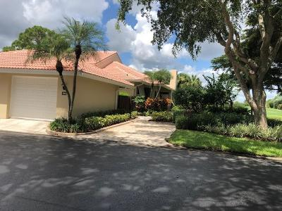 Palm Beach Gardens Townhouse For Sale: 100 Old Meadow Way #100