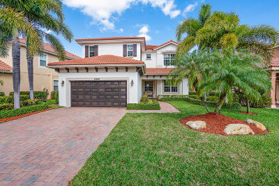 Palm Beach Gardens Single Family Home For Sale: 4906 Pacifico Court