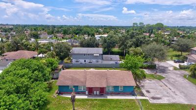 West Palm Beach Multi Family Home For Sale: 1520/1522 Barbarie Lane