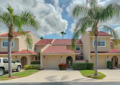 Palm Beach Gardens Townhouse For Sale: 806 Windermere Way