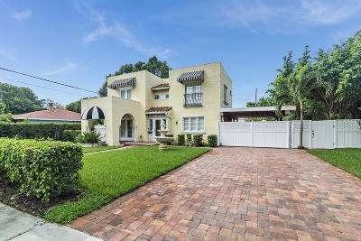 West Palm Beach Single Family Home Contingent: 410 31st Street