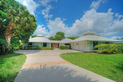 Martin County Single Family Home For Sale: 6140 SE Mariner Sands Drive