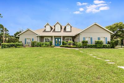 Royal Palm Beach Single Family Home For Sale: 4150 Royal Palm Beach Boulevard