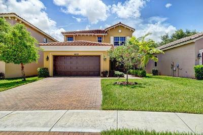Lake Worth Single Family Home For Sale: 4832 Capital Drive