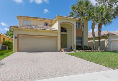 Royal Palm Beach Single Family Home For Sale: 214 Seminole Lakes Drive