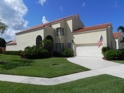 Palm Beach Gardens Single Family Home For Sale: 13206 St Tropez Circle