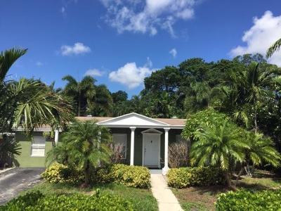 Boynton Beach Single Family Home For Sale: 2131 NW 1st Street