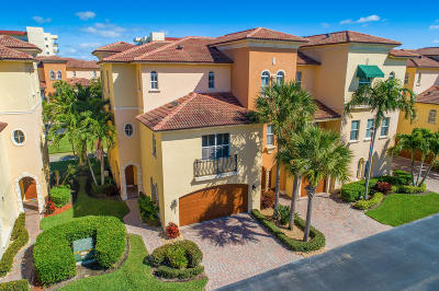Townhouse For Sale: 207 Ocean Bay Drive