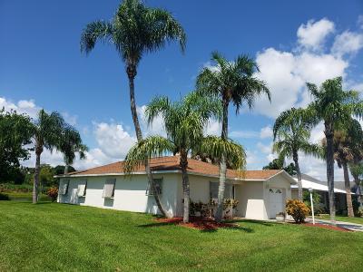 Okeechobee Single Family Home For Sale: 5150 SE 44th Street